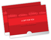 Kaady Car Washes gift card holder photo